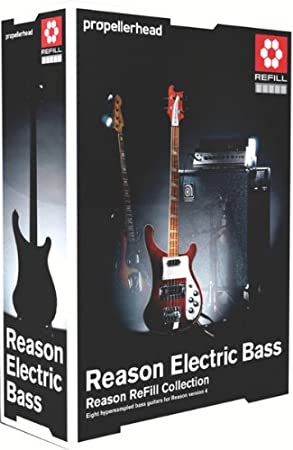 Propellerhead Reason Electric Bass ReFill Collection for Electric Bass