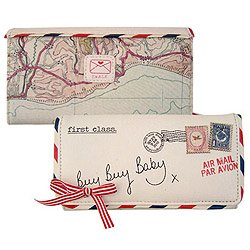 Paper Plane Ladies Wallet