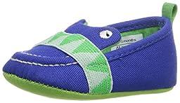 Rosie Pope Kids Footwear Prewalker See You Crib Shoe (Infant), Blue, 3-6 Months M US Infant