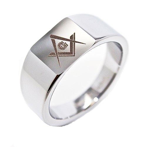 Masonic Wedding Band 2 Inspirational Blue Chip Unlimited mm