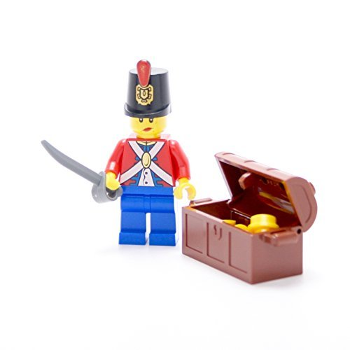 LEGO Collectible Minifigures 2011 Series IMPERIAL SOLDIER WITH TREASURE CHEST (Loose Figure) (Lego Pirates Imperial Soldiers compare prices)