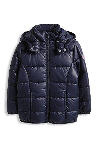 ESPRIT Mädchen Jacke mit abnehmbarer Kapuze, Gr. 128 (Herstellergröße: 128/134), Blau (NAVY 400)