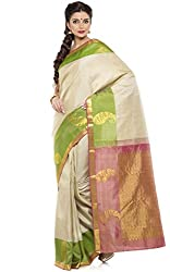 KANCHIVARAM SILK SAREE COLLECTIONS-White-KS1468-VN-Jacquard-White-KS1468-VN-Jacquard