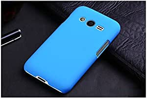 Generic Rubberised Hard Case Back Cover for SAMSUNG GALAXY ACE NXT SM-G313H - SKY BLUE