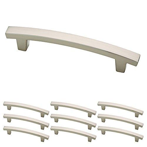 Franklin Brass P29615K-SN-B Satin Nickel 4-Inch Pierce Kitchen or Furniture Cabinet Hardware Drawer Handle Pull, 10 pack (Drawer Cabinet Pulls compare prices)