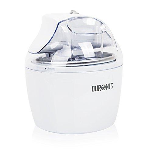Duronic IM525 - Heladera para hacer helados de crema, sorbete y congelar yogur