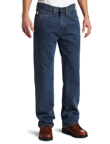 Carhartt-Mens-Relaxed-Straight-Denim-Five-Pocket-JeanDeepstone40-x-34