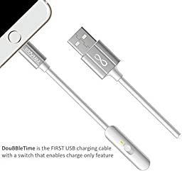 DouBBleTime DTiOSW [Lightning Cable]-Maximum Charging Speed Lightning Cable 3\' for Apple Devices