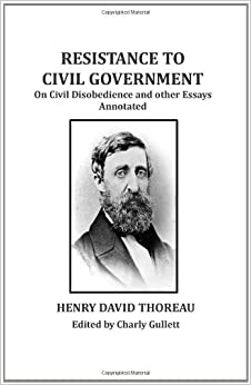 literary comparison between henry thoreau s civil disobedi View this essay on literary analysis of walden by thoreau discussing the henry david thoreau's essay 'resistance literature comparison american.