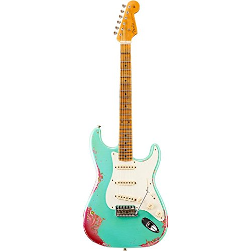 Fender Custom Shop 1957 Heavy Relic Stratocaster - Seafoam Green over Pink Paisley (Fender Custom Shop compare prices)