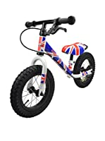 Kiddimoto Impulsor Super Junior Max Metall Blanco / Azul / Rojo