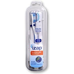 Violife iZap UV Toothbrush Sanitizer (Colors May Vary)