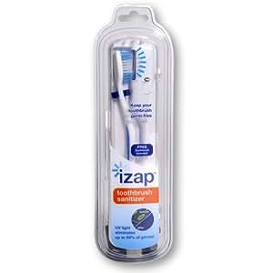 Violife iZap UV Toothbrush Sanitizer (Colors May Vary)
