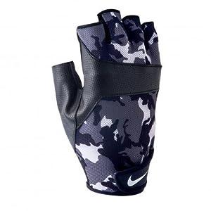 Nike Mens Motivator Training Gloves (Blk/Wht Camo Print- sz Medium)
