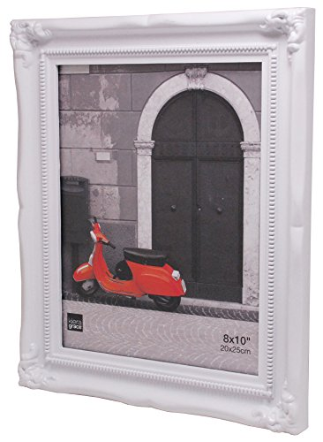 Kiera Grace Georgia Picture Frame, 8 x 10″, White