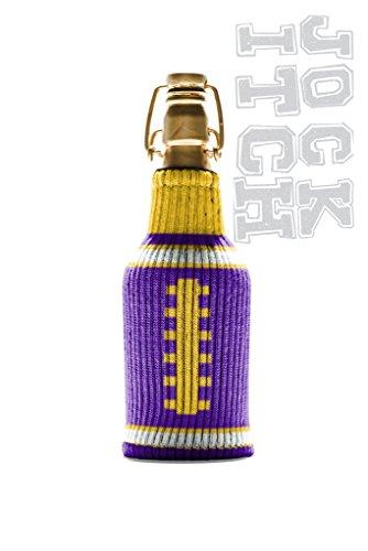 Freaker Jock Itch- Purple + Yellow Koozie