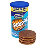 McVities Milk Chocolate Hob Nobs Tubes 250g x 10's - NEXT DAY DELIVERY