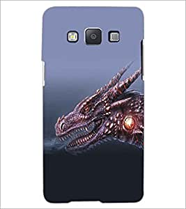 SAMSUNG GALAXY A5 DRAGON Designer Back Cover Case By PRINTSWAG
