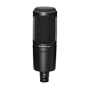 Audio-Technica AT2020 Side Address Cardioid Condenser Studio Microphone