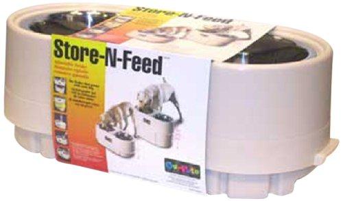 Store N Feed Adjustable Elevated Feeder