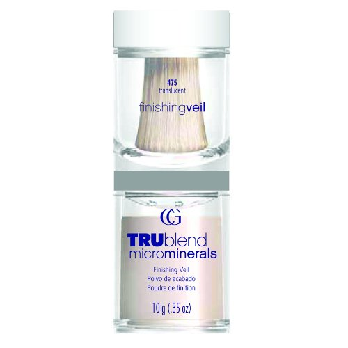 CoverGirl TruBlend Micro Minerals Finishing Veil Foundation, Translucent 475, 0.35-Ounce Package