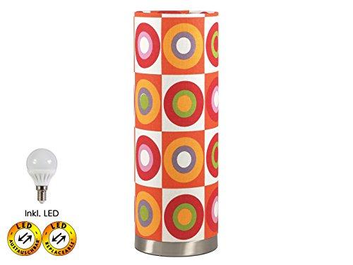 Stylische-LED-Tischlampe-im-Retro-Look-inkl-LED-3W--15-cmHhe-42-cm-FSO-0714