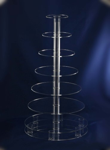 Ceefor Cakes 7 Tier Acrylic Cake Stand