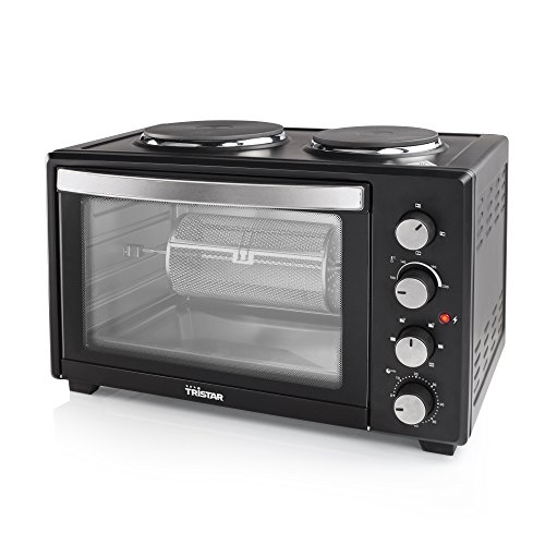 tristar-bbq-rotisserie-45-litre-mini-oven-with-grill-and-two-hot-plates-includes-two-years-warranty