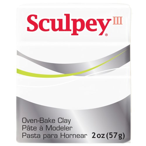1-x-sculpey-polymer-oven-bake-craft-modelling-clay-57g-white