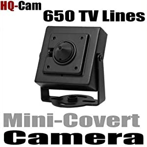 HQ-Cam® Security Surveillance Camera - 650TV Color Lines High Resolution 1/3