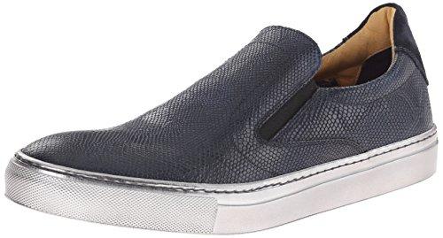 Robert Graham Men's Rolo 3 Fashion Sneaker, Blue Dip Dye, 8