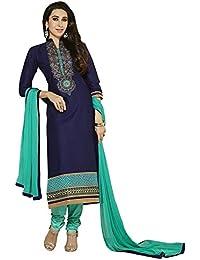 Jay Varudi Creation Women's Multi-Coloured American Crape Unstiched Printed Dress Material ( Salwar+Bottam+Duptta )