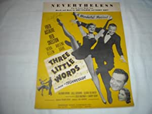 NEVERTHELESS FRED ASTAIRE 1931 SHEET MUSIC SHEET MUSIC 268
