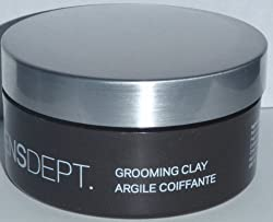 MENSDEPT Grooming Clay Strong Hold, Matte Finish 2.5oz (75ml)