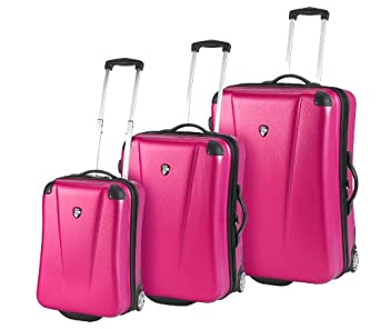 Heys Luggage Cruzer 3 Lite Hard-Sided Bag, Fuschia, One Size