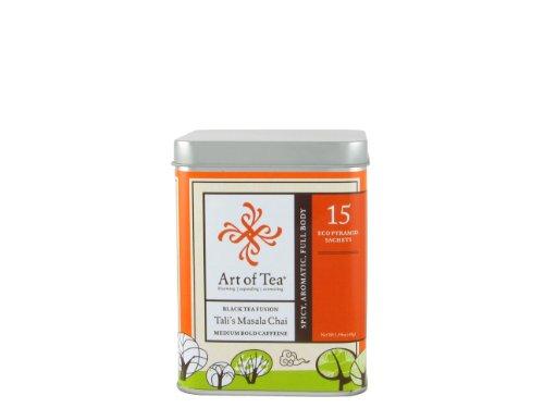 Art Of Tea Pyramid Teabags- Organic Tali'S Masala Chai - 15 Teabags