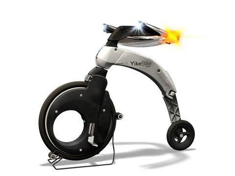 Yikebike Fusion - White
