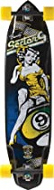 Sector 9 Brandy Complete Skateboard, Black, 10.2-Inch x 40.0-Inch