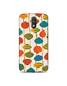 Lattoo 3D Printed Back Cover For Motorola Moto G4 Play