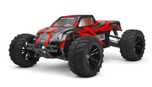 Iron Track RC Bowie 1:10 Scale 4WD Brushless Truck Almost Ready to Run (Red)