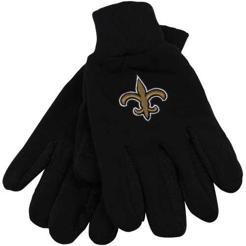 New Orleans Saints Utility Work Gloves at Amazon.com