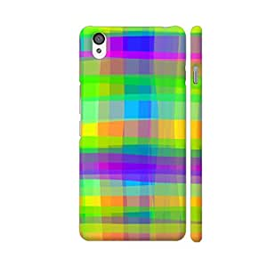 Colorpur Psychedelic Fabric Texture Pattern Artwork On OnePlus X Cover (Designer Mobile Back Case) | Artist: BluedarkArt