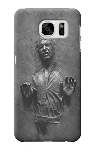 R2633 Han Solo Frozen in Carbonite Case Cover For Samsung Galaxy S7 Edge