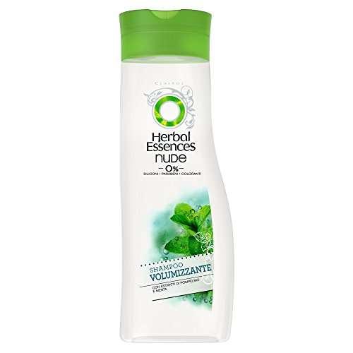 Herbal Essences Nude (0%) Shampoo Volumizzante, 250 ml