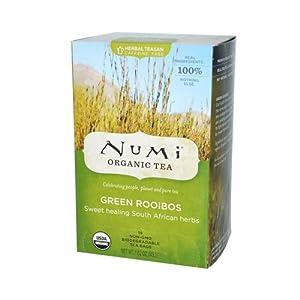 Numi Green Tea Bags Rooibos