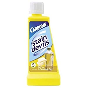 Carbona Stain Devils #5, Fat & Cooking Oil, 1.7-Ounce Bottle (Pack of 6)