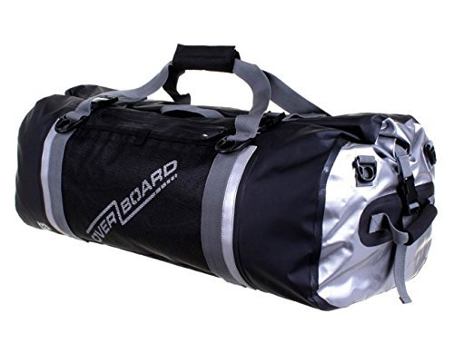Overboard Pro-Sports Waterproof Duffel Bag - Black, 60 Litres by Overboard