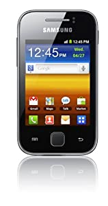 Samsung S5360 Galaxy Y Sim Free Mobile Phone - Metallic Gray