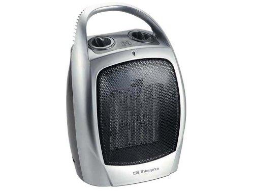 Orbegozo-CR5016-Termoventilador-vertical-cermico-1500-W-2-posiciones-aire-fro-termostato-con-asa-color-plata