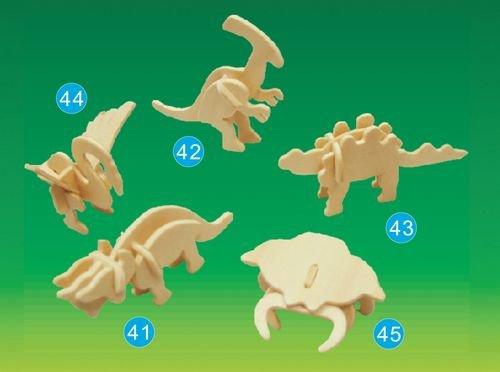 Picture of Puzzled Stegosaurus- Mini 3D Puzzle (B002X375S2) (3D Puzzles)